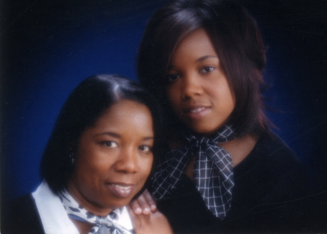 Mother & Daughter, Head & Shoulder