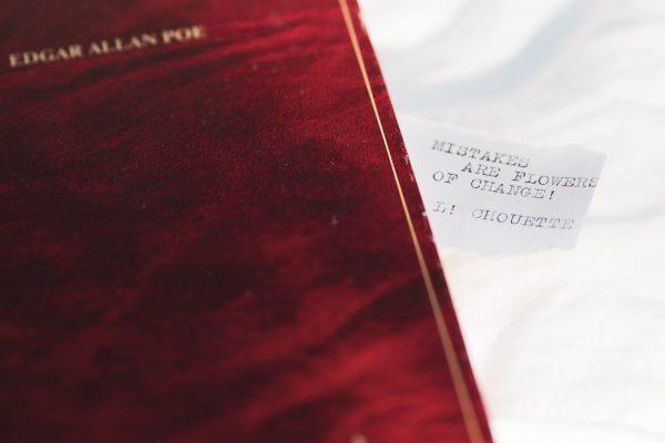 Edgar Allen Poe book