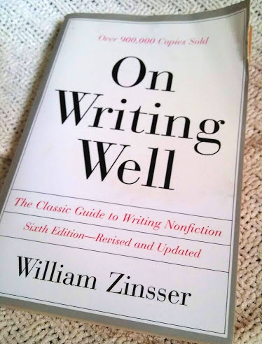 Book - On Writing Well, William Zinsser
